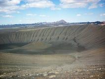 Icelan, Hverfjall crater Royalty Free Stock Photos