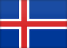 iceland royaltyfri illustrationer
