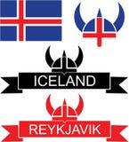 iceland stock illustrationer