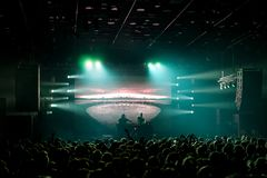 Iceland Airwaves 2017 Concert Harpa Royalty Free Stock Photo