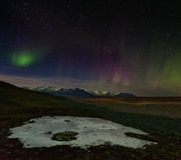 Iceland Aurora Stock Photos
