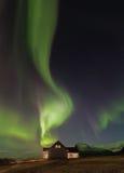Iceland Aurora. Night photography of Iceland Jokulsarlon Royalty Free Stock Image