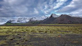 Iceland, Beautiful arctic landscape Stock Images