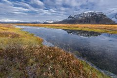 Iceland, Beautiful arctic landscape Stock Photography