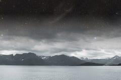 Iceland black and white. Stock Image