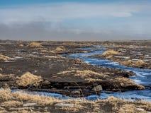 Iceland burza piaskowa Obrazy Stock