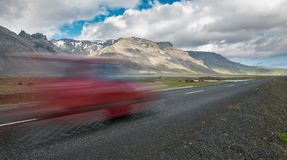 Iceland by car Stock Images