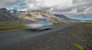 Iceland by car Stock Photo