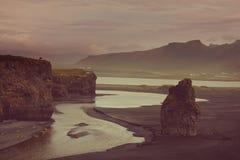 Iceland coast Stock Photography
