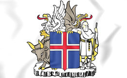 Iceland Coat of Arms Stock Photos