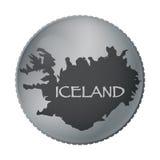 Iceland Coin Stock Photos