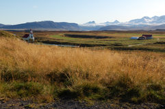 The Iceland country Royalty Free Stock Images