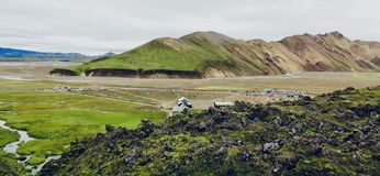 Iceland, country of Ice and fire! royalty free stock photography