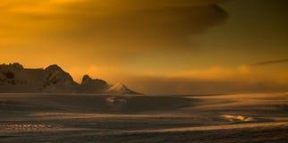 Iceland day landscapes. Photo taken at Lake of Iceland Royalty Free Stock Photo