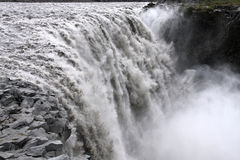 Iceland - Dettifoss stock photography