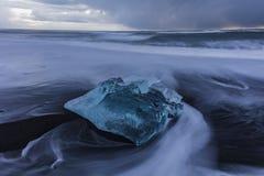 Iceland Diamond Stock Photography