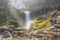 Iceland - Dynjandi waterfall. Stock Images
