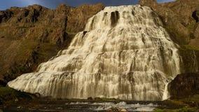 Iceland Dynjandi Waterfall Stock Images