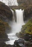 Iceland. Dynjandivogur Bay. Fjallfoss waterfall. Stock Image