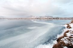 Iceland east fjords Stock Photos