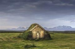 Iceland. east region.old church. Royalty Free Stock Photos