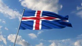 Iceland flaп Royalty Free Stock Photos