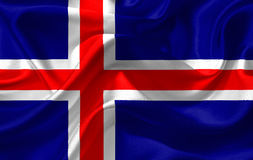Iceland Flag Royalty Free Stock Photos
