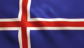 Iceland Flag Stock Images