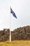 Iceland Flag Royalty Free Stock Image