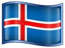 Iceland Flag icon Stock Image