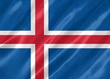 Iceland Flag royalty free illustration