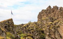 Iceland flaga Obraz Royalty Free