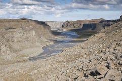 iceland flod royaltyfria foton