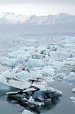 Iceland góry lodowa Fotografia Stock