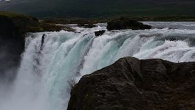 Iceland Góðafoss Waterfall Royalty Free Stock Images
