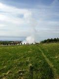 Iceland geom nornicy obrazy stock