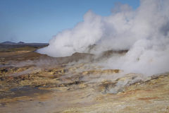 Iceland: Geothermal area Royalty Free Stock Image