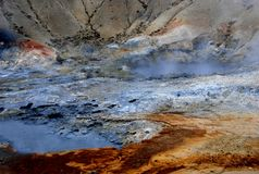 Iceland Geyser Royalty Free Stock Images