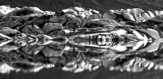 Iceland_glacier Стоковые Фото