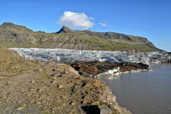 Iceland glacier Royalty Free Stock Image
