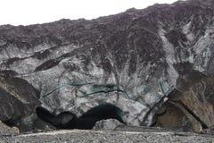 Iceland glacier cave entrance glacier virkisjökull royalty free stock images