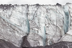 Iceland Glacier. Iceland Close-up of Glacier Eyjafjallajkull Royalty Free Stock Images
