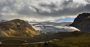 Iceland glacier stock video footage