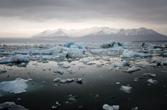 Iceland Glacier lagoon Royalty Free Stock Images