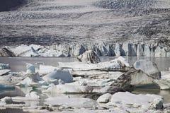Iceland: Glacier lake Stock Images