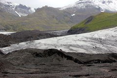 Iceland Glacier Landscape Stock Photo
