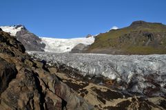Iceland glacier Royalty Free Stock Photography