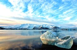 Iceland glacier Royalty Free Stock Images