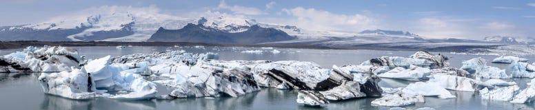 Iceland_glacierlagoon Стоковые Фотографии RF
