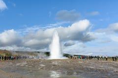 Iceland Gorące wiosny Obraz Stock